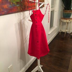 Forever 21 red Cotton Dress